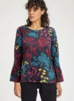 Floral Tunic by Thought - WWT4349 - Agnetha